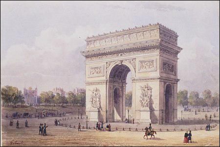 Que ne trouve-t-on pas sous l'Arc de Triomphe ?