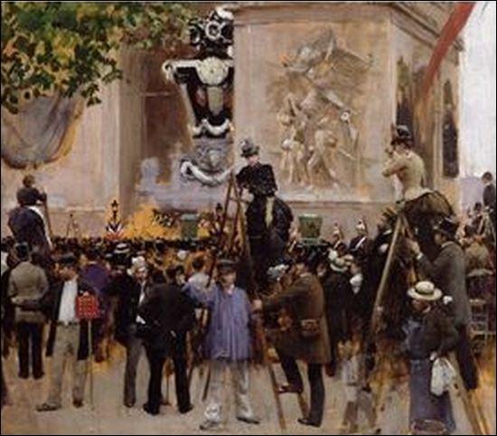 Il fit un poème sur l'Arc. En 1885, son cercueil sera exposé trois jours sous l'Arc de Triomphe avant d'être conduit au Panthéon, il s'agit de...