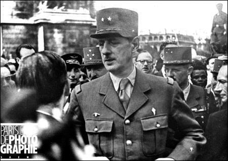 Le 25 Août 1944, la libérationde Paris. Il lance cette phrase : ' Paris ! Paris Outragé ! Paris Brisé ! Paris Martyrisé mais Paris...