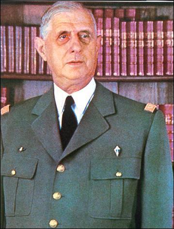 Charles de Gaulle était surnommé... .