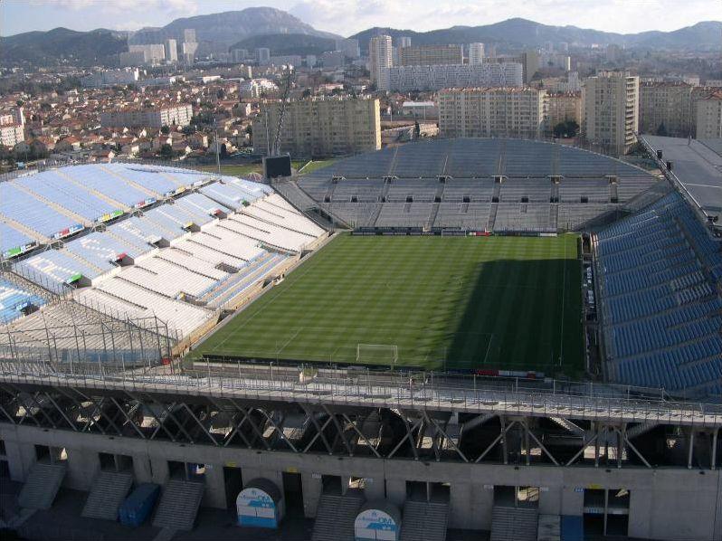 Les stades de foot de ligue1 saison 2011-2012