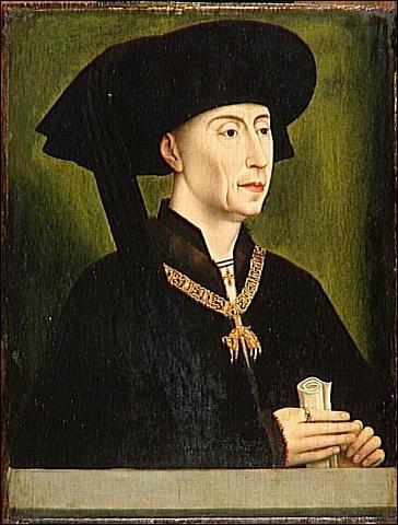 Philippe le Bon et Charles le Téméraire sont des ducs de Bourgogne, principauté autonome jusqu'à la fin du XVème.