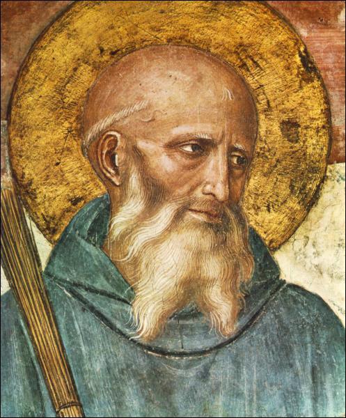 La règle des monastères bénédictins est l'oeuvre de deux Saints Benoît.