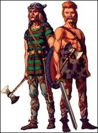 Les Francs sont un peuple germanique, comme les Vikings, les Goths et les Vandales.