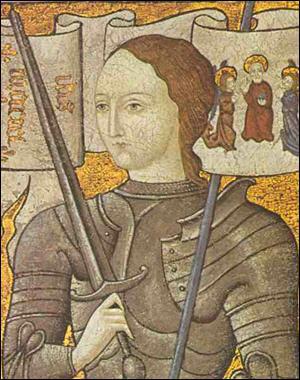 Jeanne d'Arc a aidé le roi Charles VII, mais elle a fini brûlée par les Anglais à Orléans.