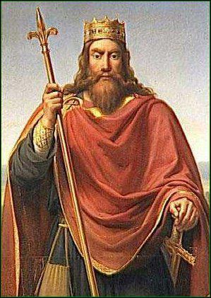 Clovis, premier roi des Francs unifiés, a vécu entre 566 et 611.
