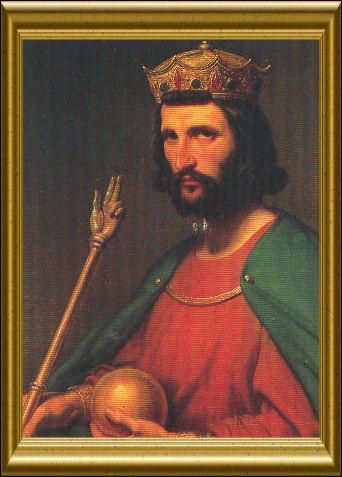 Hugues Capet, fondateur de la dynastie capétienne en 987, doit son nom à la cape qu'il porte souvent.