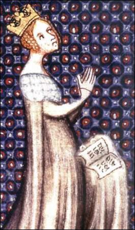 Avant de devenir reine d'Angleterre, Aliénor d'Aquitaine (1122-1204) épouse Louis VII le Jeune.