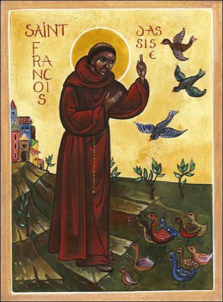 Les ordres des frères mendiants franciscains et dominicains sont fondés au XIIIème siècle.