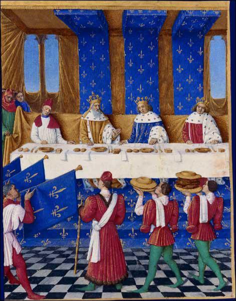 Mais la résidence principale de Charles V est le château de Vincennes où il est né.