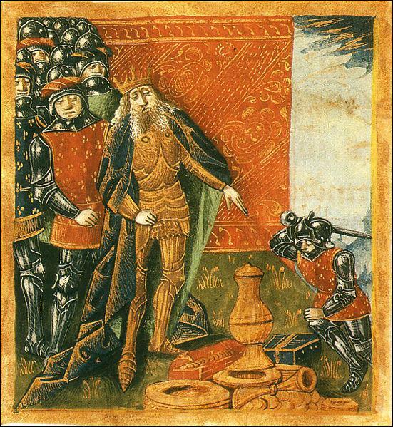 Le vase de Soissons est un butin de guerre que Clovis n'a jamais obtenu.