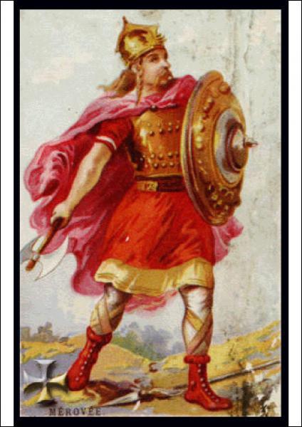 Les successeurs de Clovis sont appelés mérovingiens à cause de Mérovée, le fils de Clovis.