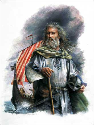 Roland est aussi le nom d'un Viking devenu duc de Normandie en 911 suite à un traité avec le roi Charles III le Simple.