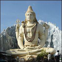 Dieu destructeur, troisième dieu de la trinité hindoue
