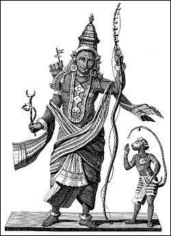 Autre avatar de Vichnou, symbole de l'Homme parfait