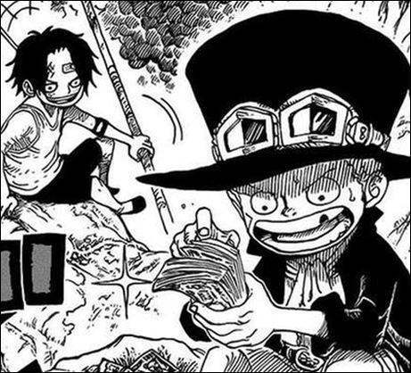 Qui sont Ace et Sabo pour Luffy ?