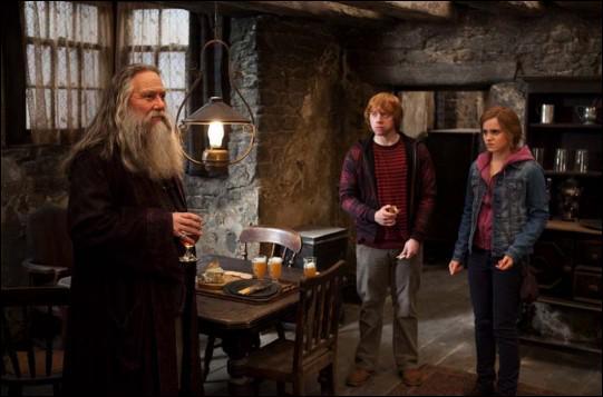 Comment se nomme ce très grand sorcier, frère d'Albus Dumbledore ?