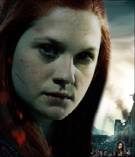 De qui Ginny est-elle amoureuse ?