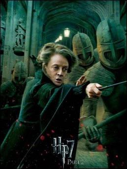Par qui McGonagall est-elle tuée ?