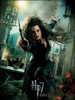 Par qui Bellatrix Lestrange est-elle tuée ?