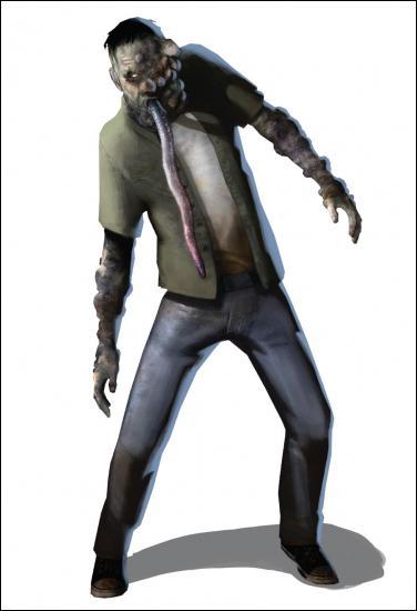 Comment s'appelle dans left 4 dead 1 le zombie qui attrape les survivants avec sa langue ?