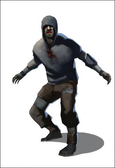 Comment s'appelle dans left 4 dead 1 le zombie qui bondit sur les survivants et les met à terre ?