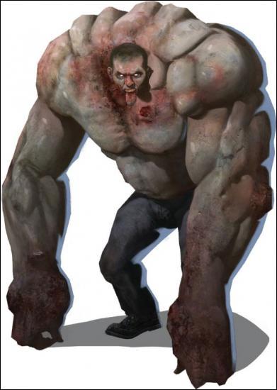 Comment s'appelle dans left 4 dead 1 le zombie le plus fort ?