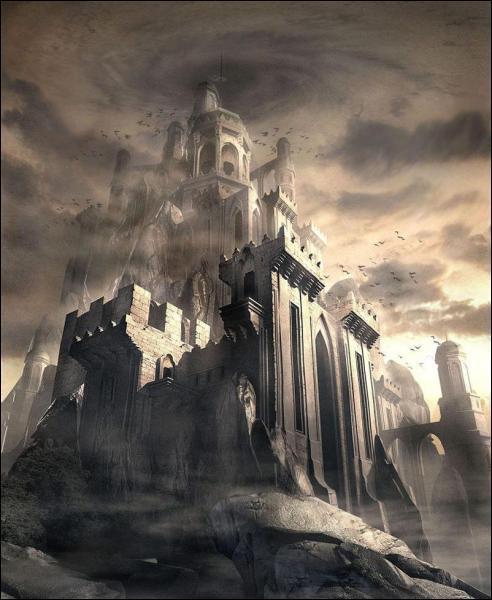 Sur quelle montagne se trouve le palais des Titans ?