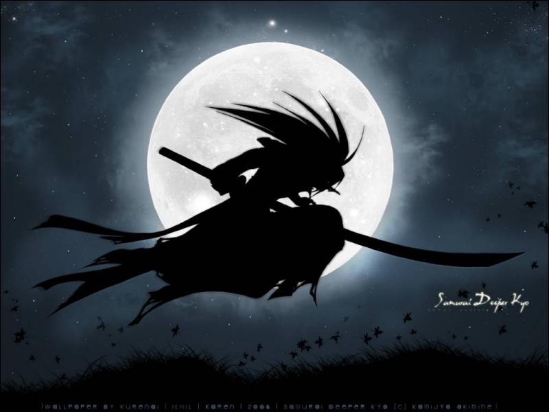 Dans Samurai Deeper Kyo : Kyo aux yeux de démons a les yeux ...