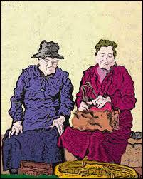 Ces deux bons vieux parlent de leurs rhumastismes : 'Mon pauvre Albert, j'ai de l'arthrose ! '