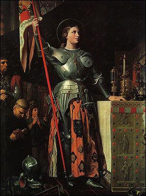 Quel roi Jeanne d'Arc fit-elle sacrer à Reims en 1429 ?