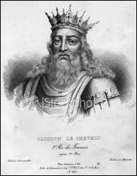 Quel fut le premier roi, un mérovingien qui débuta un arbre généalogique de 17 souverains ?