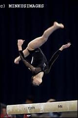 Comment s'appelle cette gymnaste ?