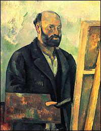 Il est l'auteur de ' La montagne Sainte-Victoire ' c'est ... ...