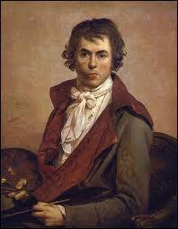 Il fut chef de file de l'école néoclassique, il a peint 'Les Sabines', c'est ... ...