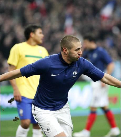 Quel a été le Score de la victoire de l'Equipe de France face à la Sélection ukrainiene en juin dernier ? (Le meilleur match de la nouvelle équipe de Laurent blanc [à mes yeux : ) ])