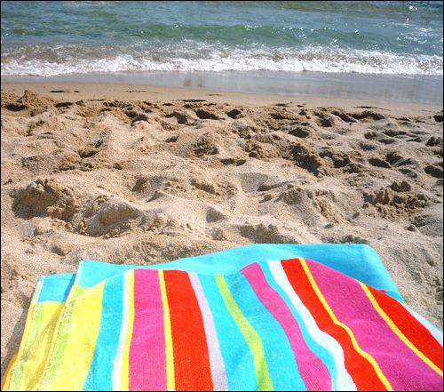 Quizz la plage quiz enfants - Chauffer une serviette ...