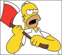 Quelle est la goumandise préférée de Homer ?