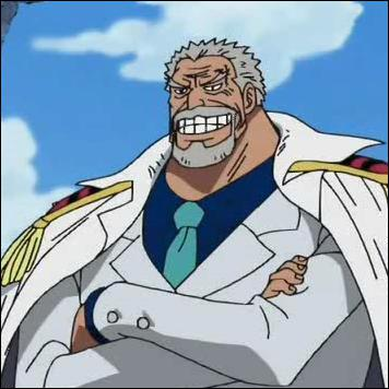Le vice amiral Garp est...