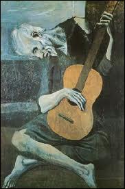 Qui a peint Le vieux guitariste ?