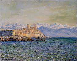 Qu'est-ce qui est représenté sur ce tableau de Claude Monet ?