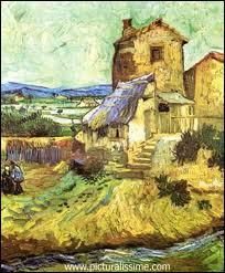 Qui a peint Le vieux moulin ?