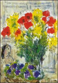 Qui a peint 'Fleurs de printemps' ?