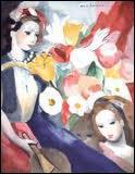 Qui a peint Jeunes filles et fleurs ?