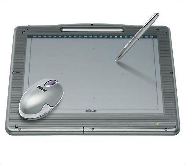 Pour dessiner, les pros préfèrent utiliser, à la place d'une souris...