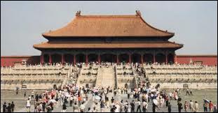 Quelle est la capitale de la Chine ?
