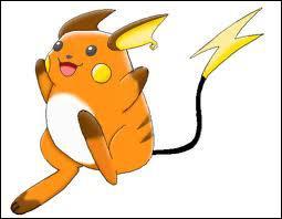 Quelle est l'évolution de Pikachu ?