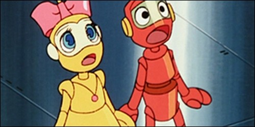 Dans quel dessin animé peut-on voir Nono le petit robot et son amie Nanette ?