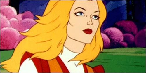 """Dans """"She-ra, la Princesse du pouvoir"""", comment s'appelle la princesse, la sœur de Musclor ?"""