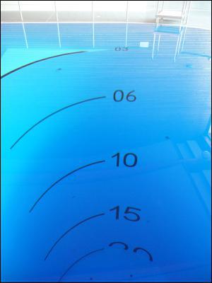 Quelle est la pression relative à 19 mètres ?